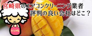 宮崎県のエアコンクリーニングで評判が良い会社ランキング
