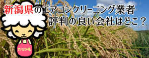 新潟県のエアコンクリーニングで評判が良い会社ランキング