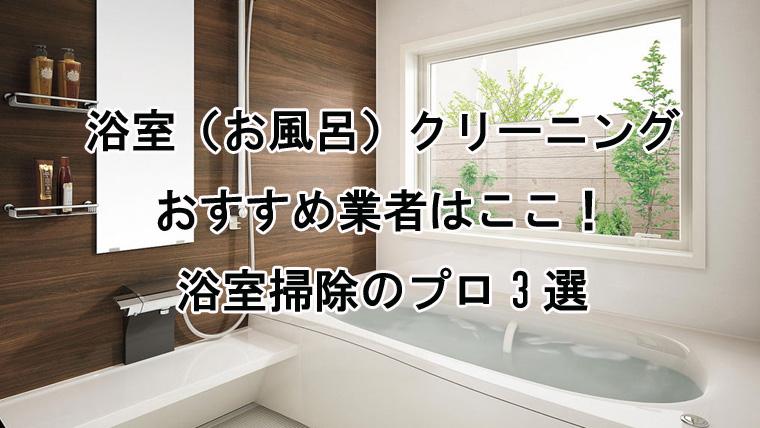 浴室クリーニングランキング