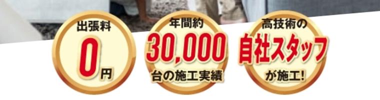 スマイキュア30,000台