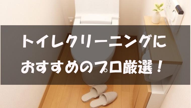 トイレクリーニングのおすすめ