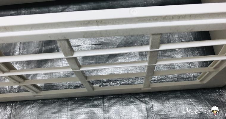 ベアーズ体験談:2年前購入したエアコンの汚れ