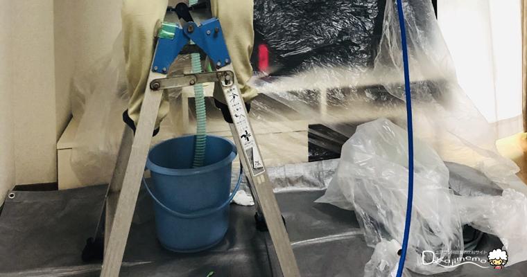 ベアーズ体験談:汚水がバケツに溜まる