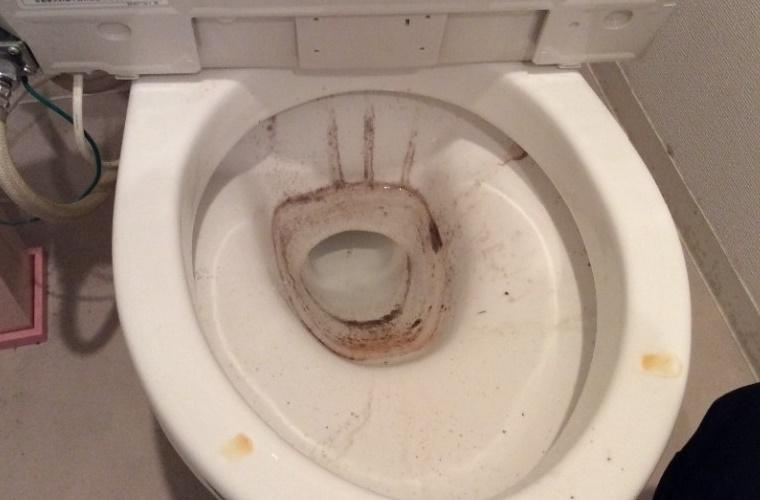 トイレクリーニング前