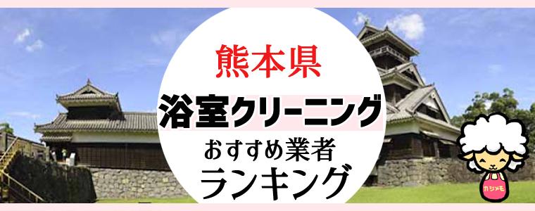 熊本県のお風呂掃除・浴室クリーニング業者おすすめランキング