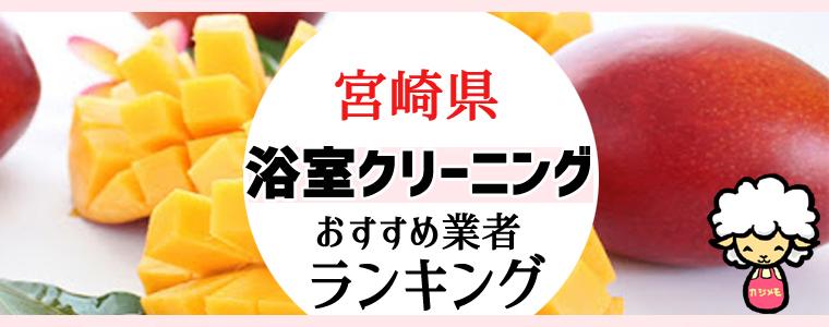 宮崎県のお風呂掃除・浴室クリーニング業者おすすめランキング