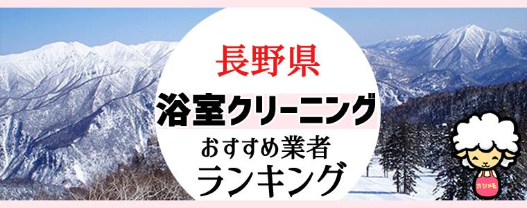 長野県のお風呂掃除・浴室クリーニング業者おすすめランキング
