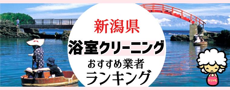 新潟県のお風呂掃除・浴室クリーニング業者おすすめランキング
