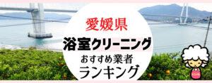愛媛県のお風呂掃除・浴室クリーニング業者おすすめランキング