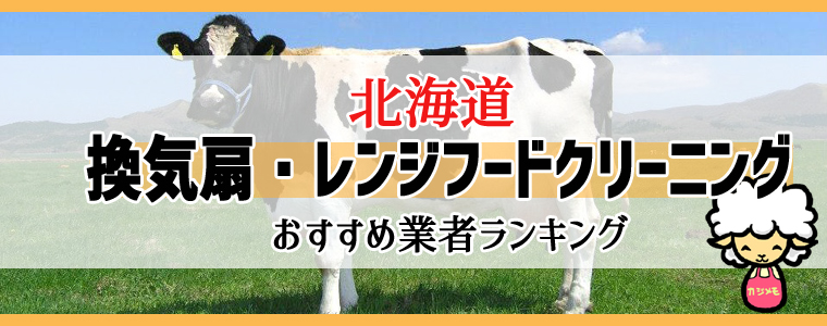 北海道の換気扇掃除・レンジフードクリーニング業者おすすめランキング