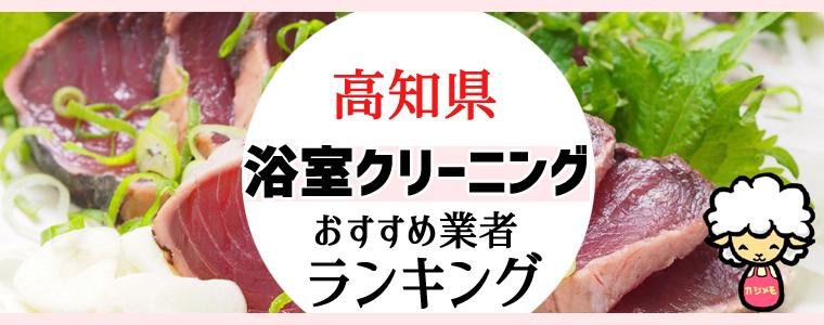 高知県のお風呂掃除・浴室クリーニング業者おすすめランキング