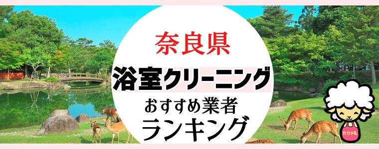 奈良県のお風呂掃除・浴室クリーニング業者おすすめランキング