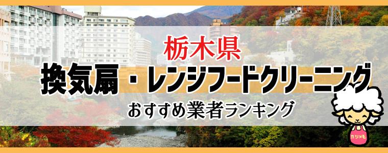 栃木県の換気扇掃除・レンジフードクリーニング業者おすすめランキング
