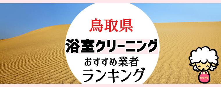鳥取県のお風呂掃除・浴室クリーニング業者おすすめランキング