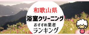 和歌山県のお風呂掃除・浴室クリーニング業者おすすめランキング